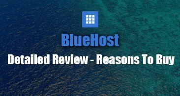 BlueHost Detailed Review with Pros & Cons
